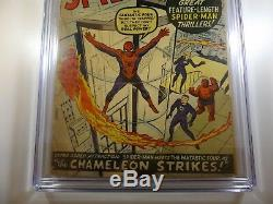 The Amazing Spider-man #1 CGC Certified 3.0! Flawless Slab! Beautiful Book