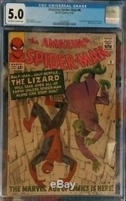 The Amazing Spider-man 6 (1963) Cgc 5.0
