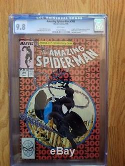 The Amazing Spiderman #300 1st full app of venom CGC 9.8