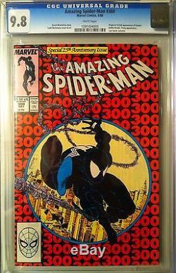 The Amazing Spiderman #300 CGC 9.8 Origin & 1st Appearance Venom Todd McFarlane