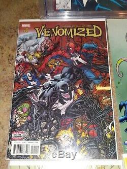 Venom CGC 9.8 LOT AMAZING SPIDERMAN 375, VENOM LETHAL PROTECTOR 1 AND MORE LOOK